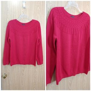 NWT Talbots sophisticated red top